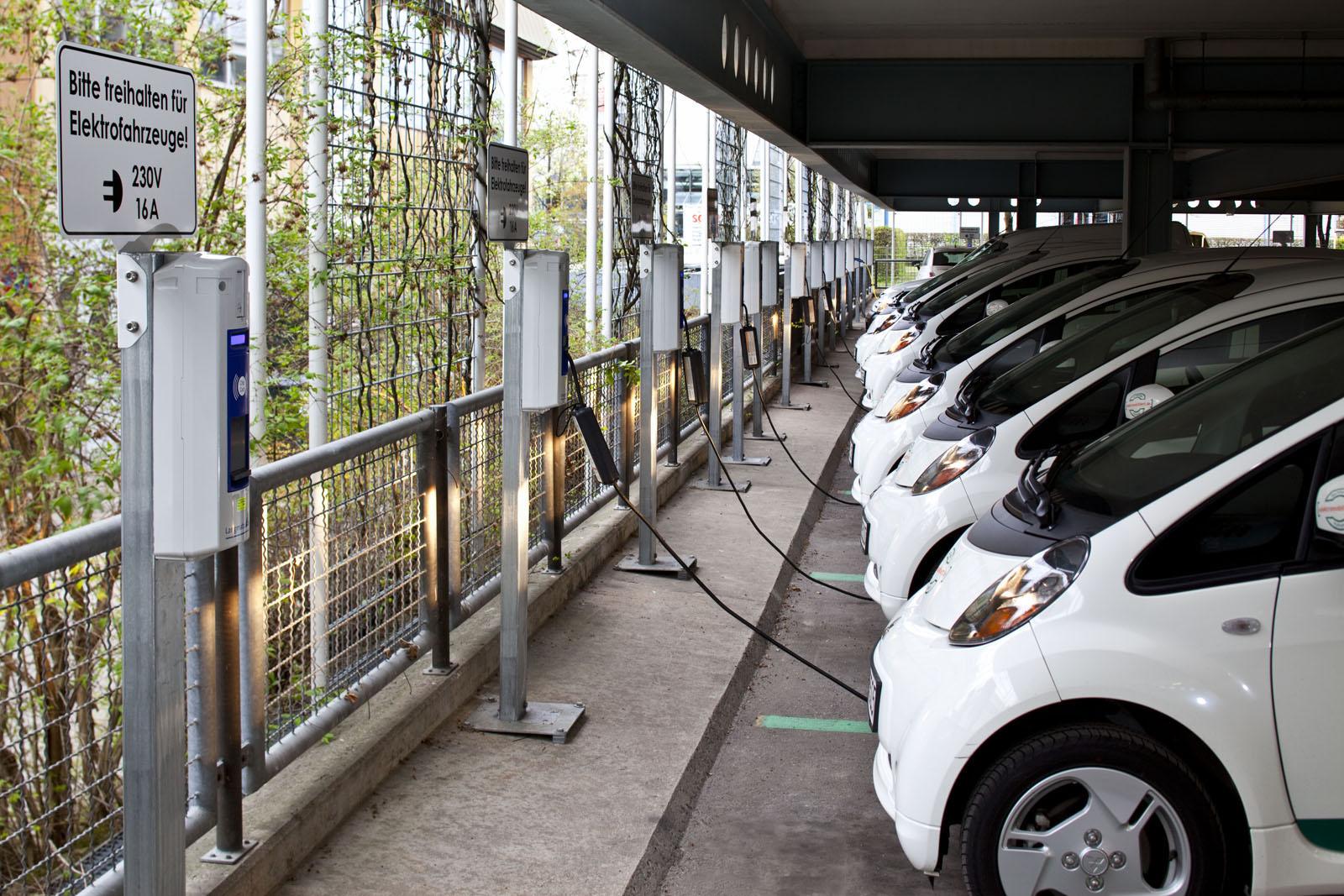 Recarga vehículos eléctricos por cable