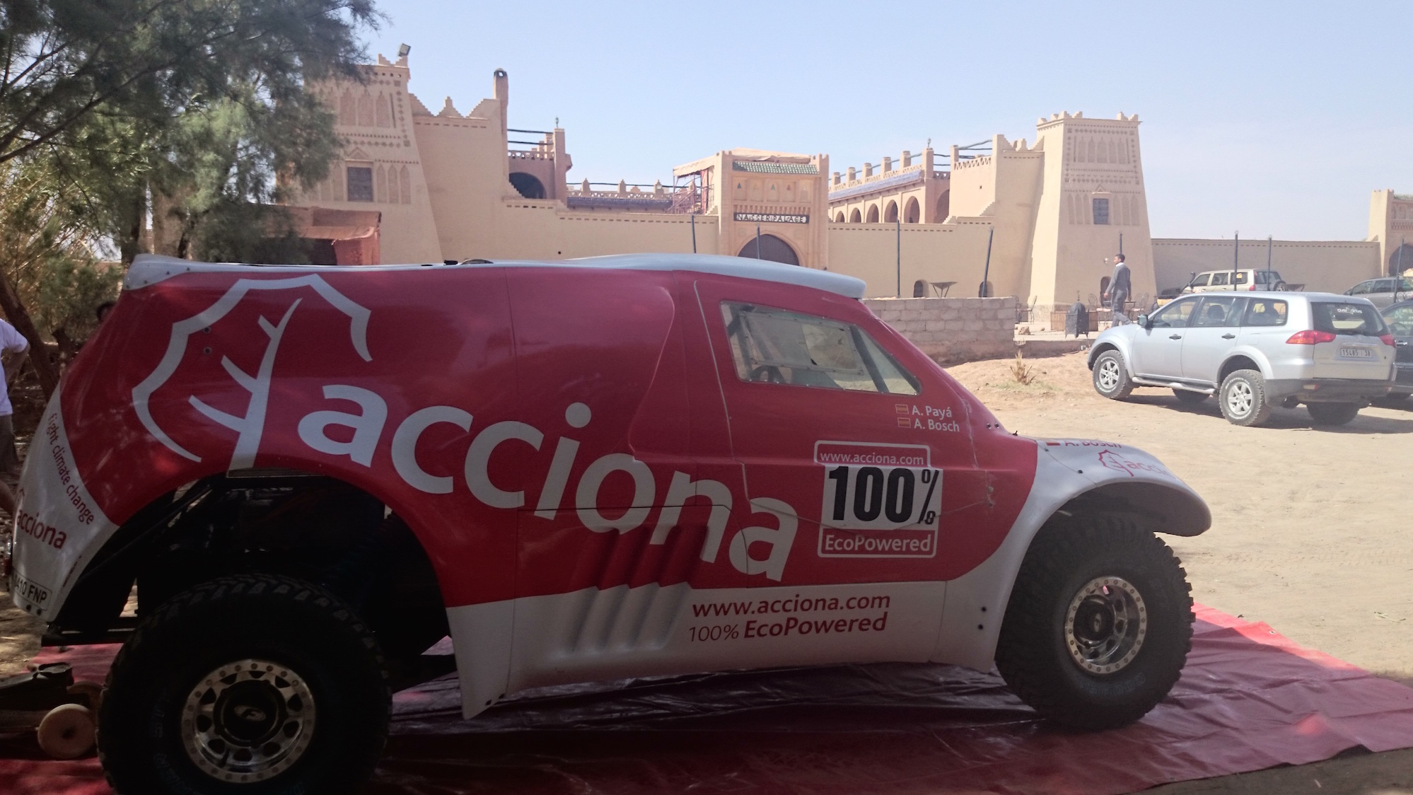 Acciona eléctrico Dakar-Marruecos