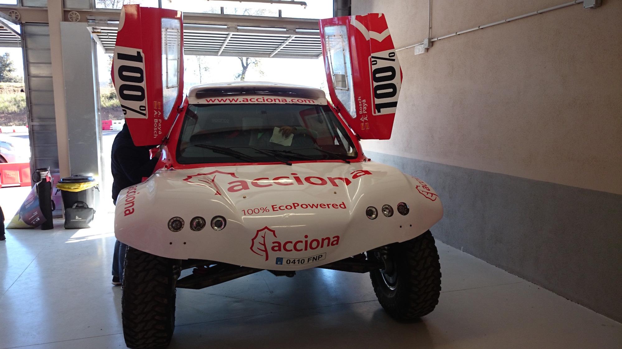 Acciona eléctrico Dakar-1