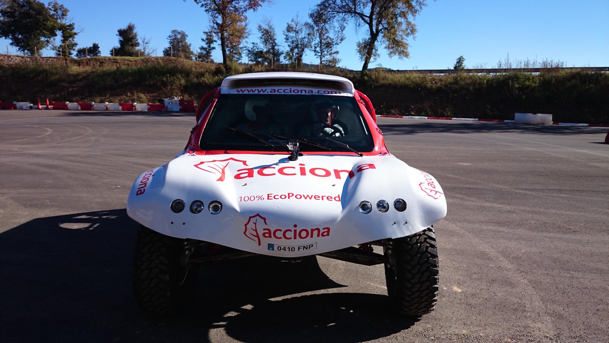 Acciona Dakar eléctrico-eficiencia