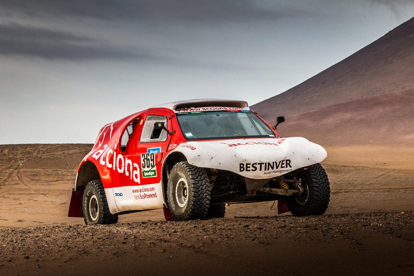 Acciona Dakar en Iquique-Dakar2015