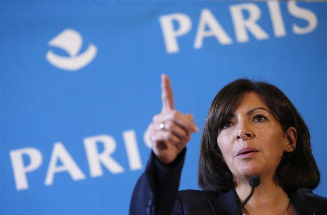 Anne Hidalgo Alcaldesa de París