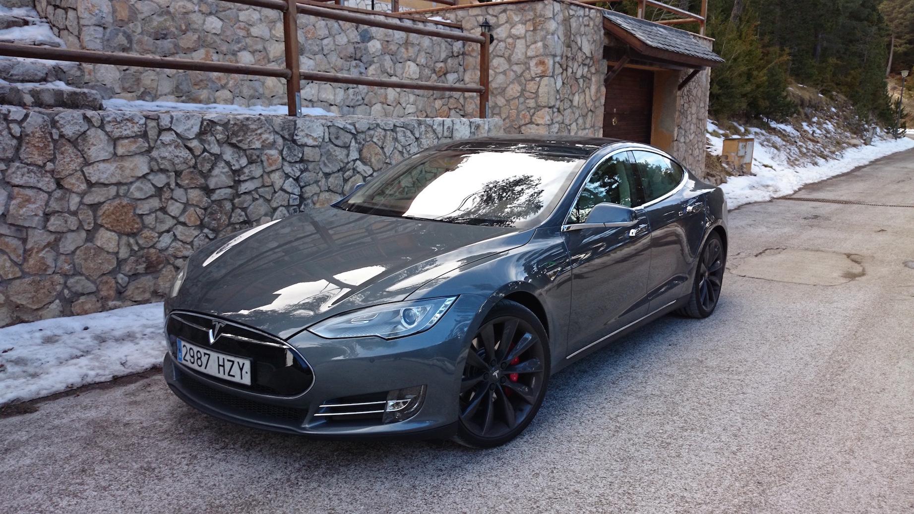 El Tesla Model S P85+ de BGEC. A.Payá