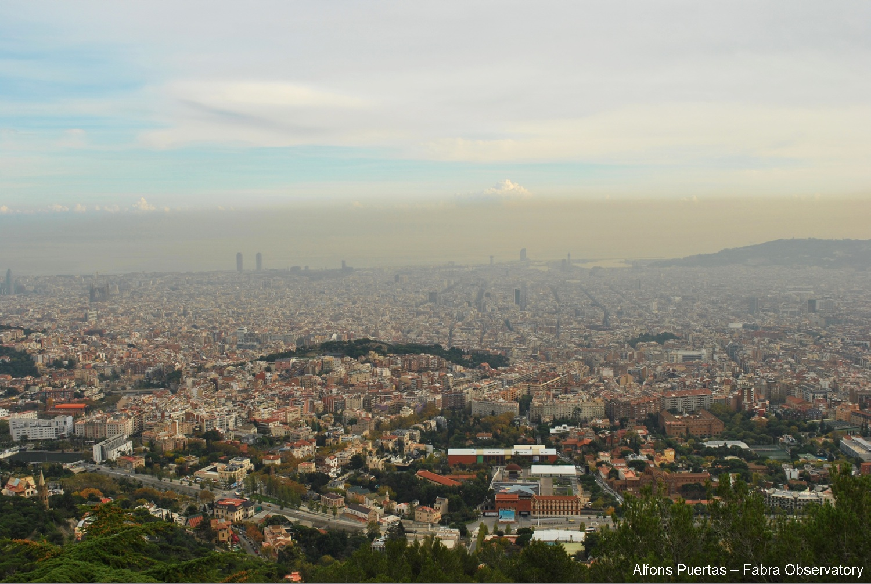 Barcelona contaminación del Aire
