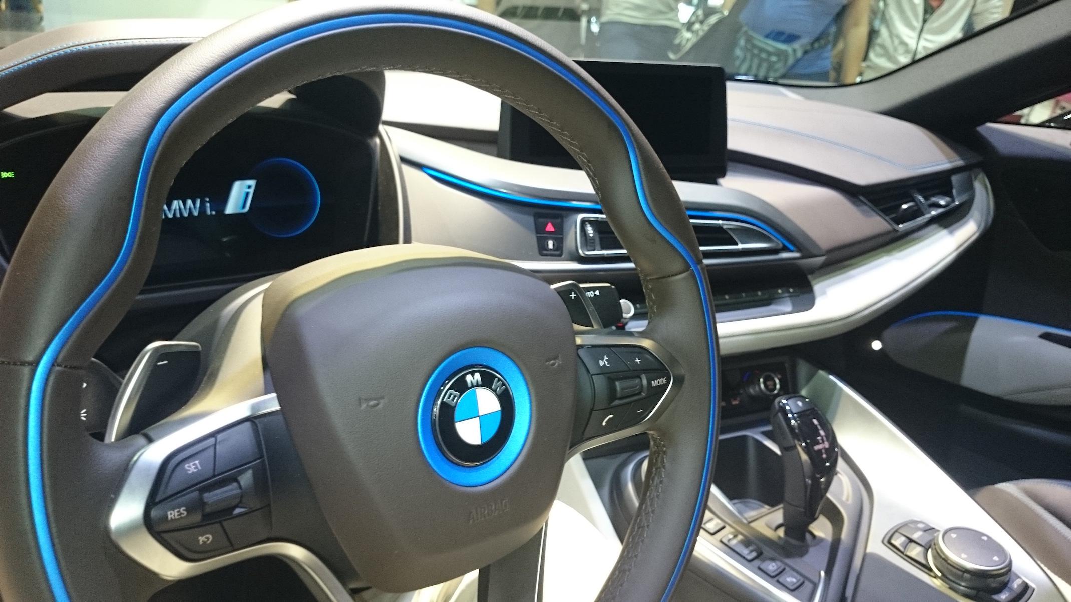 BMW i8 Salón del Automóvil Barcelona