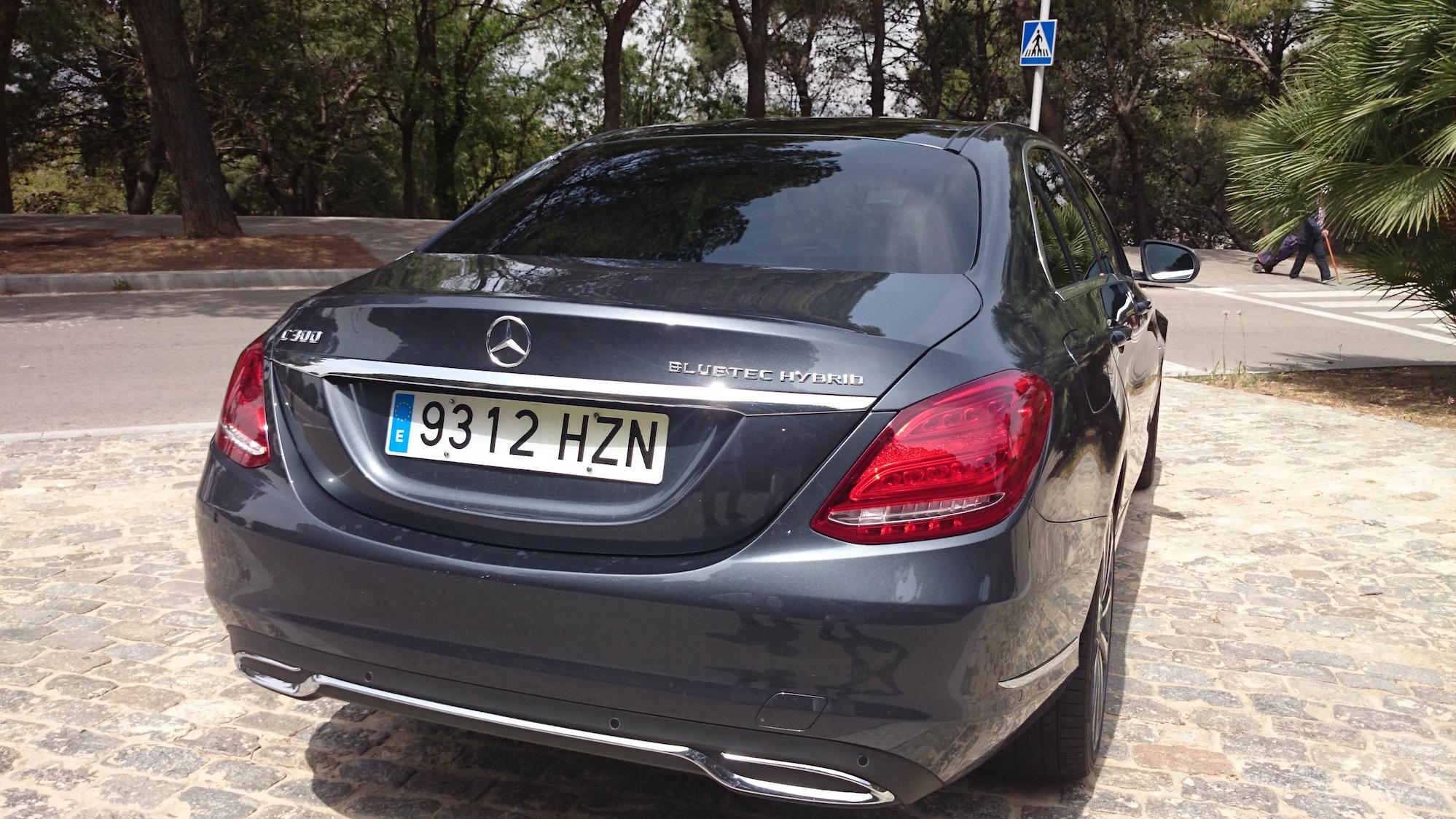 Mercedes C300 Bluetec Hybrid