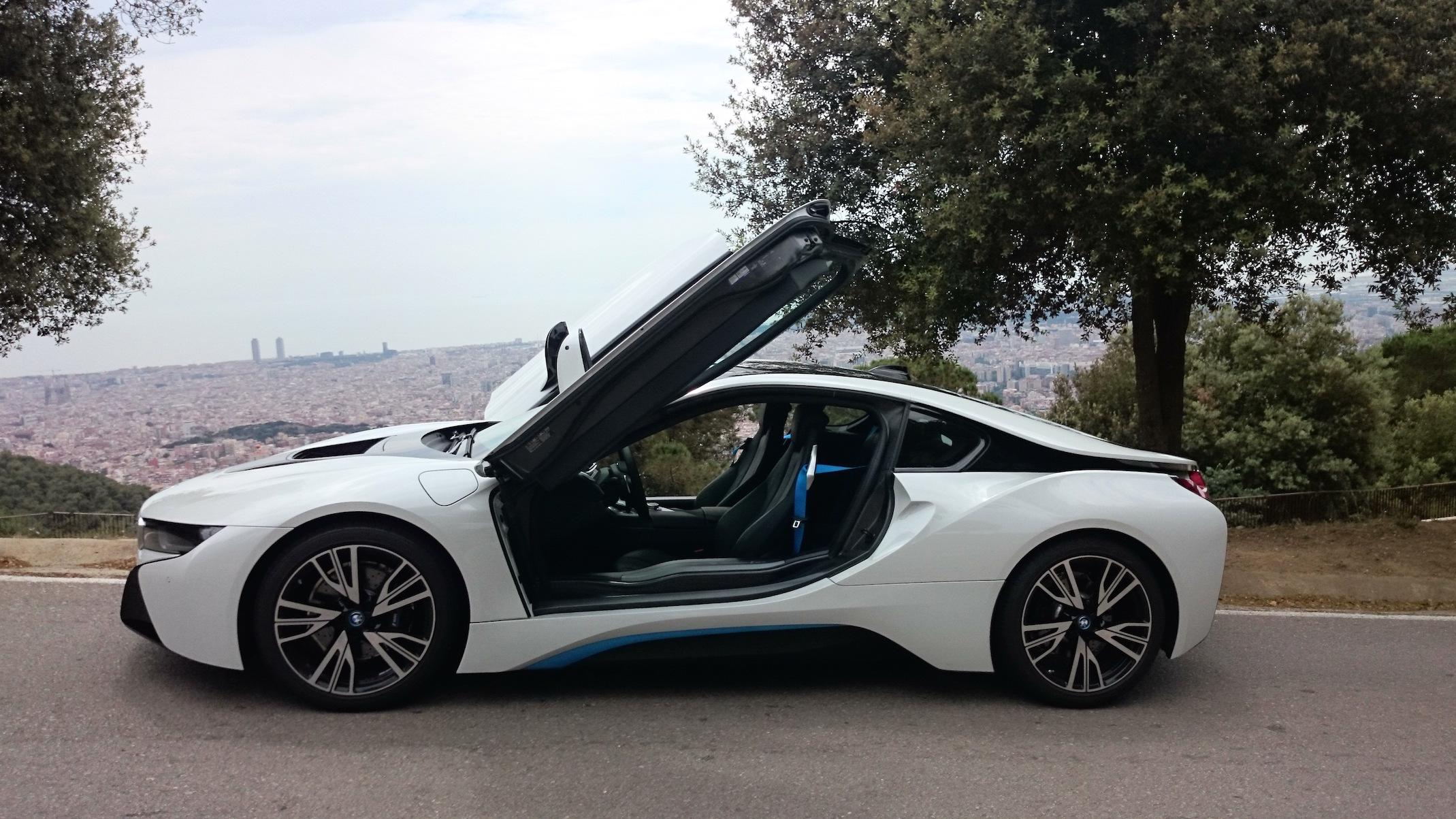 BMW i8 Test Agustín Payá
