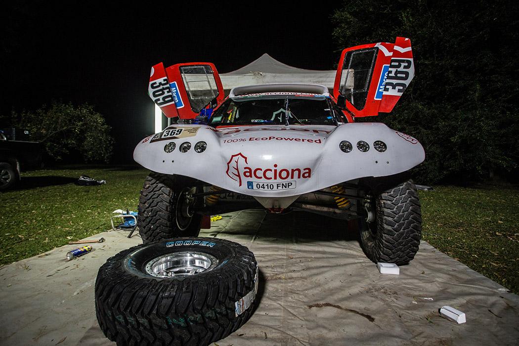 Acciona Dakar en Argentina. Agustín Payá