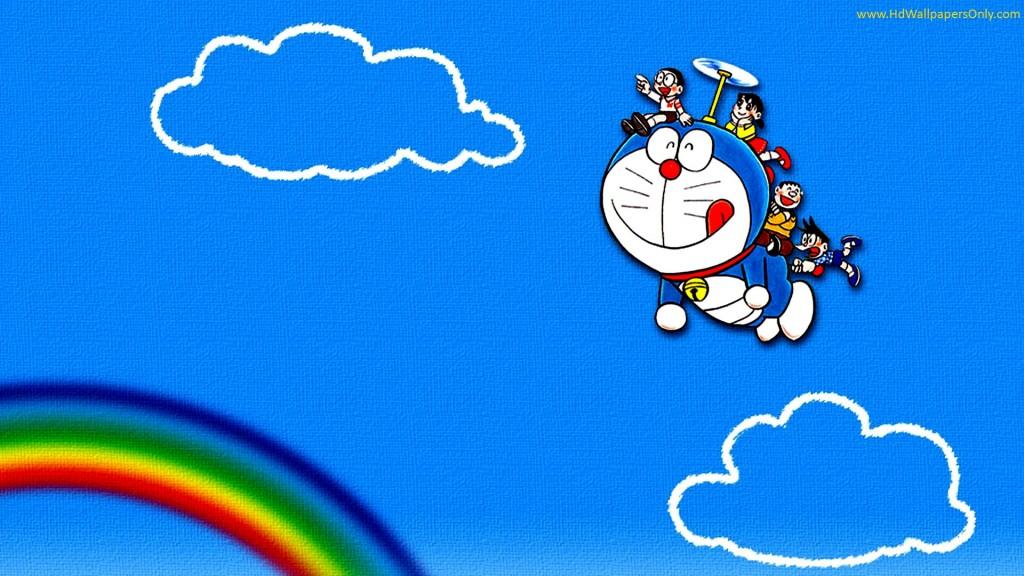 Doraemon volador.