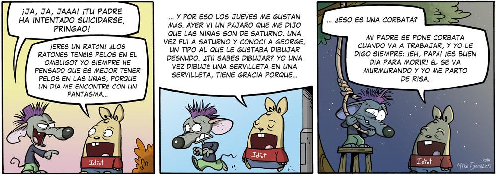 El ratón macarra