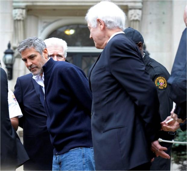 George Clooney detenido