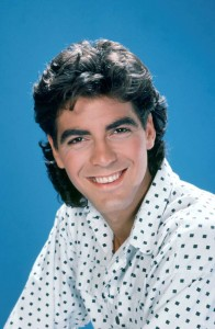 George Clooney joven