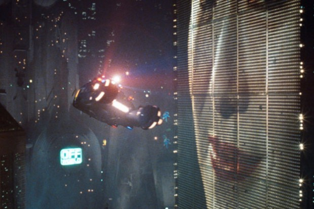 Coches en Blade Runner