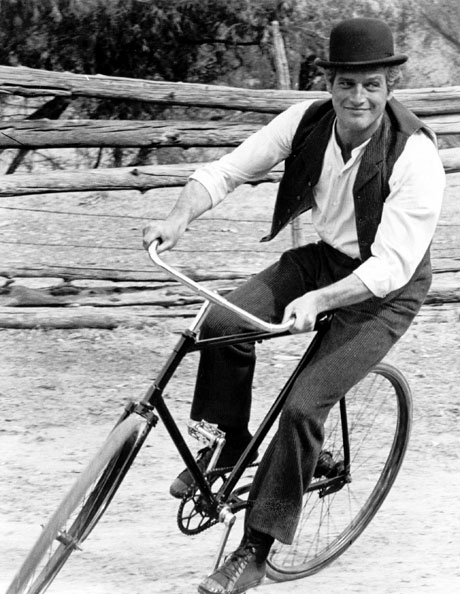 Paul Newman en bici