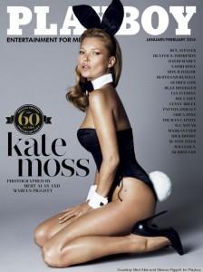 Kate Moss portada Playboy