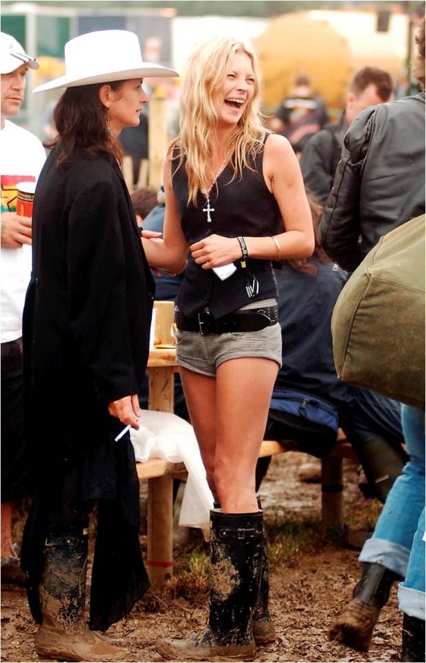 Kate Moss de festival