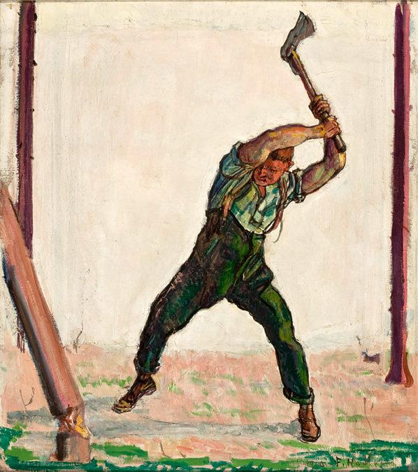 Ferdinand_Hodler_-_O_Lenhador,_1910