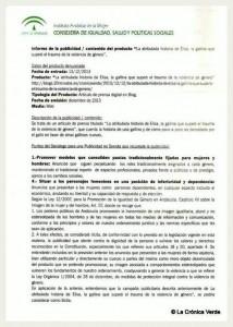 Denuncia Andalucía