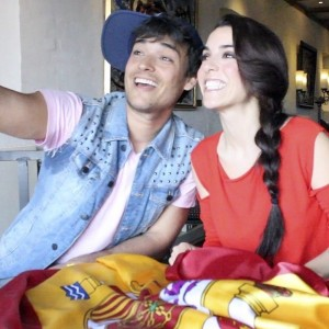 Davem y Ruth Lorenzo en Eurovisión
