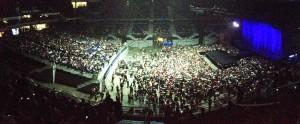 El Palacio de los Deportes antes del concierto (DAVEM).