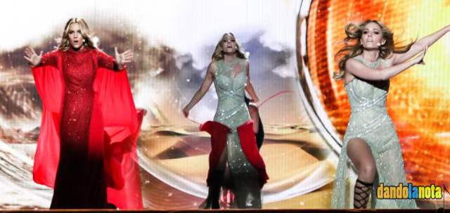 Edurne_eurovision_Cambio_vestido_josefuentes