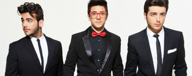 Shoot of the Opera trio Il Volo for their Christmas 2013 CD packaging. Photographed at Lionshare Studio.8255 Beverly Blvd. Suite 219. Los Angeles, CA 90048. 323.424.3691