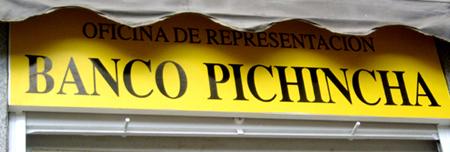C mo no llamar a su empresa iii desternillablog for Oficinas banco pichincha