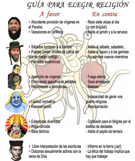 Humor gráfico sobre las religiones y dioses - Página 2 Guia-para-elegir-religion-peque