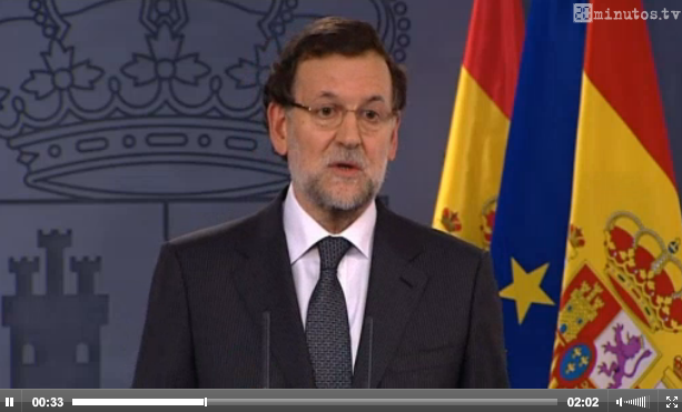 Rajoy con Barroso hoy (20minutos.tv)
