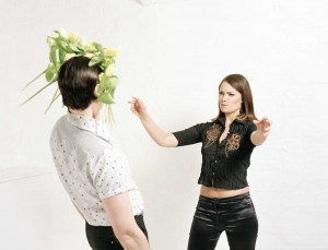 pelea de novios