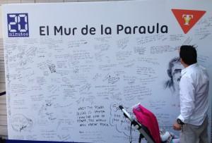 Mensajes en El Muro de la Palabra