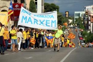 La Via Catalana de 2013.