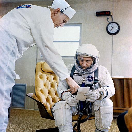 Gus_Grissom_Gemini-3_checklist