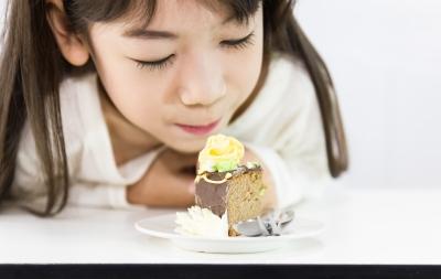 Niña pastel