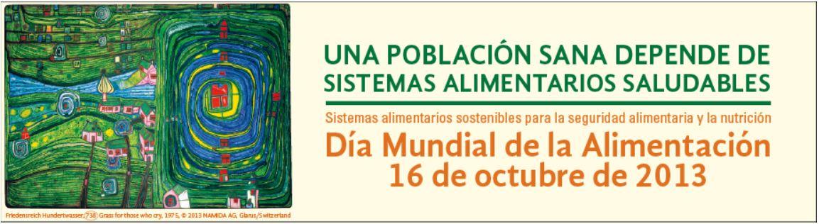 Día mundial alimentación 2013