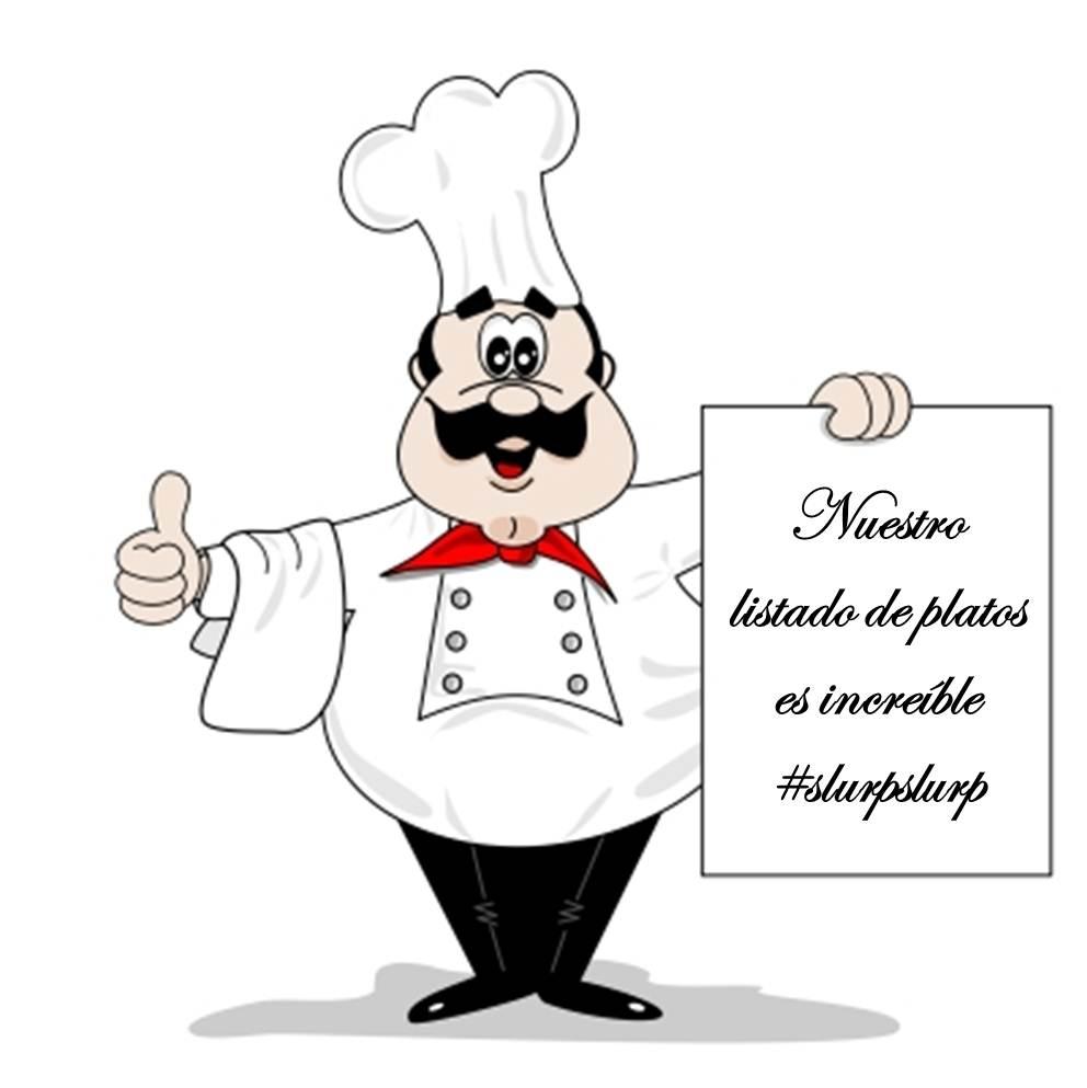 Listado de platos