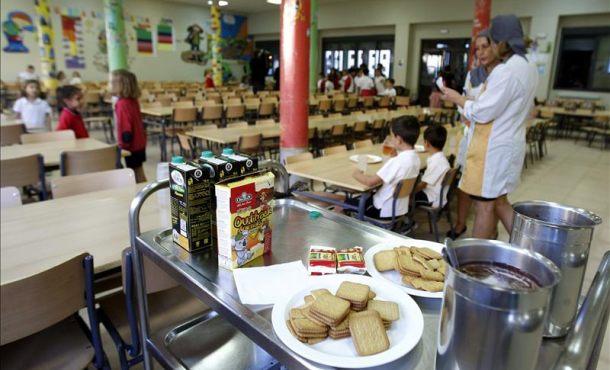 Ser por fin la alimentaci n saludable una asignatura en for Empresas comedores escolares