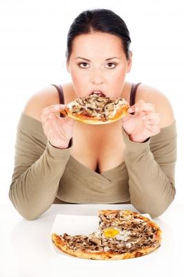 Pizza obesidad