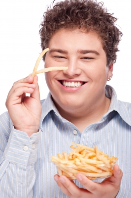 Gordito con patatas