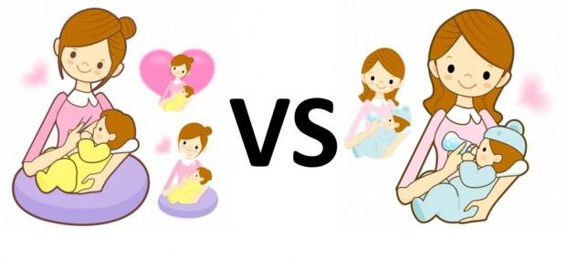 Leche materna vs fórmula