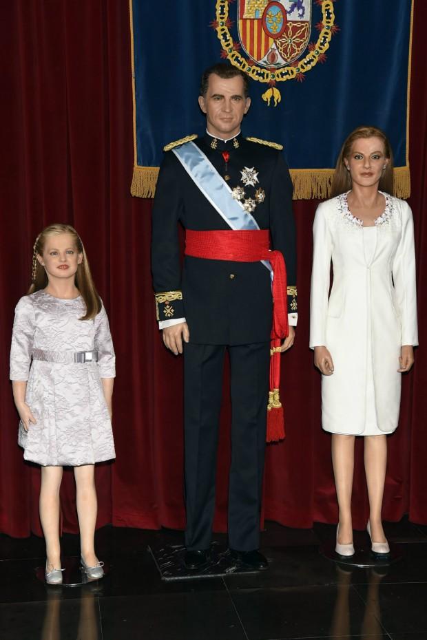 La Familia Real. Ah, no, que son de cera (GTRES)