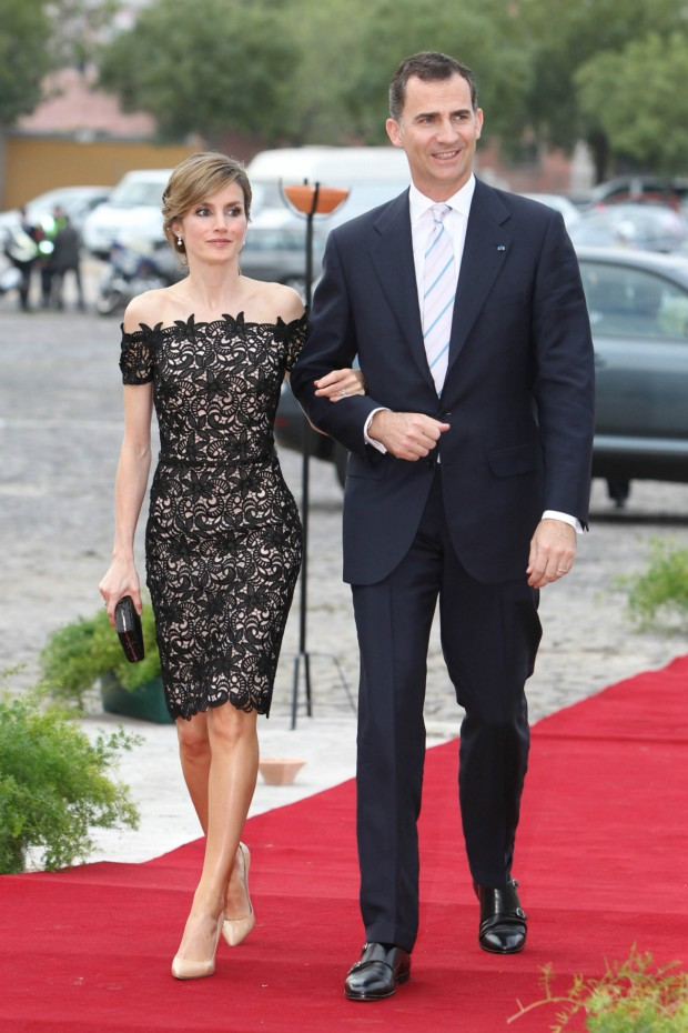 Letizia con Felipe. ¿Qué reina os gusta más?