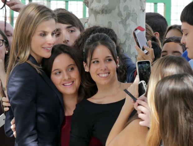 La reina del 'selfie'. (GTRES)