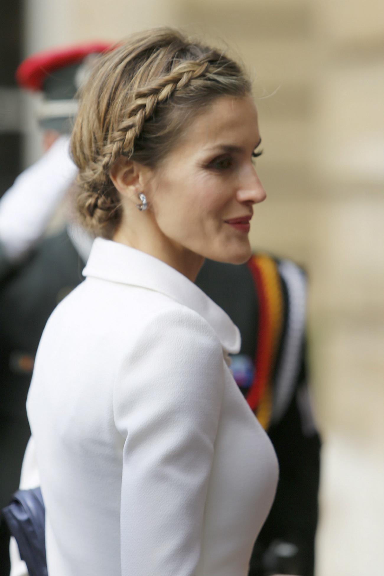 Semi recogidos princesa letizia
