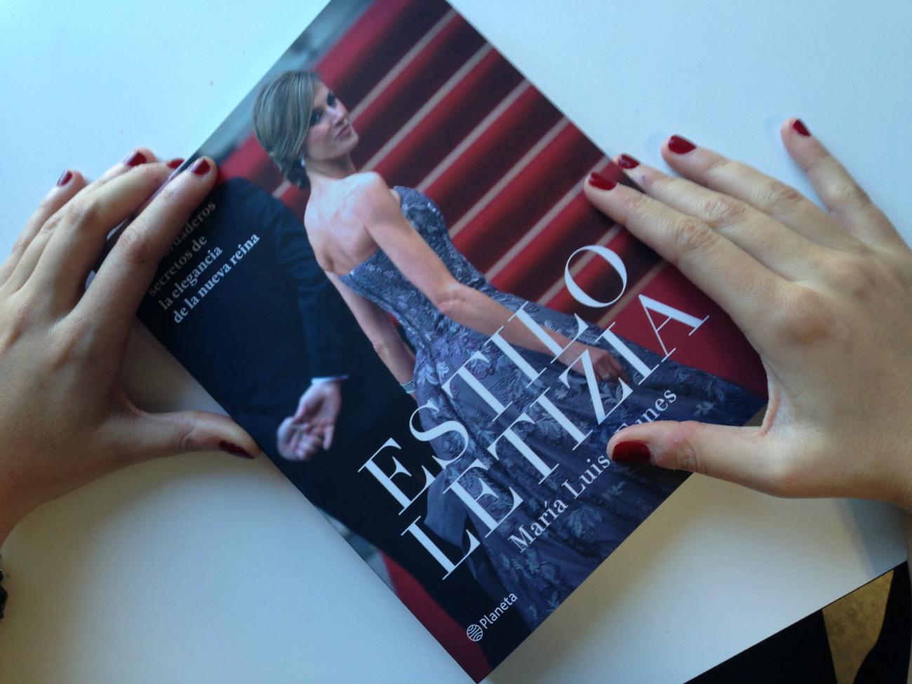 Portada del libro Estilo Letizia. (JORGE PARÍS)