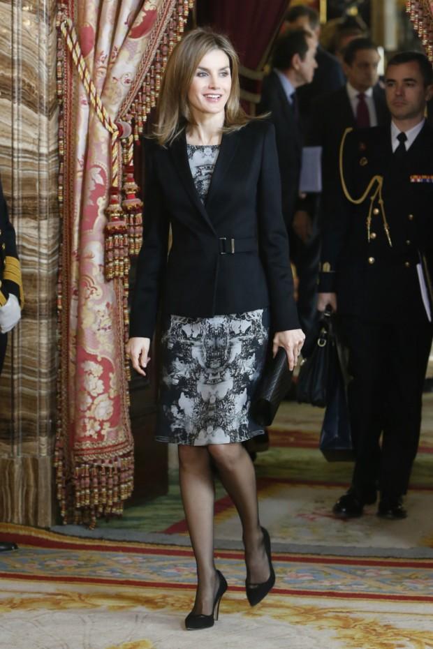 Letizia en modo 'porque yo lo valgo'. (GTRES)
