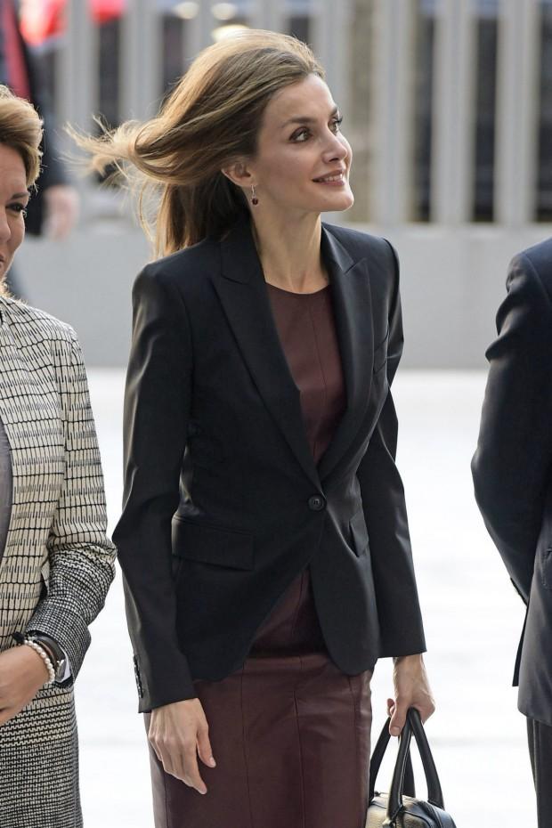 La chaqueta, con un botón, todo un acierto. (GTRES)