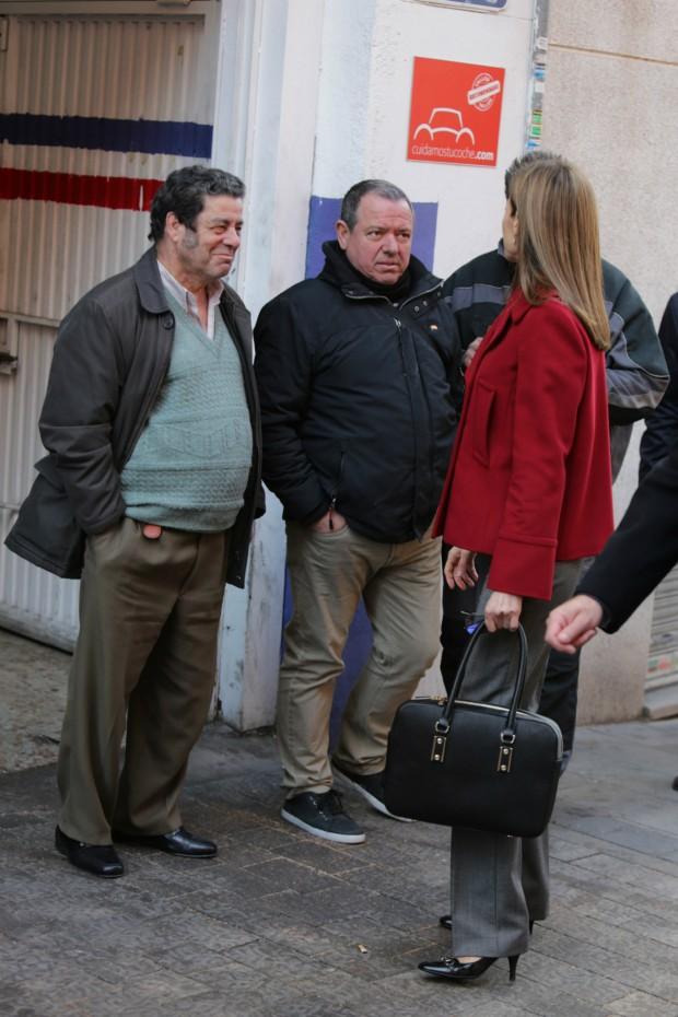 Letizia, la musa de los señores de mediana edad. (GTRES)