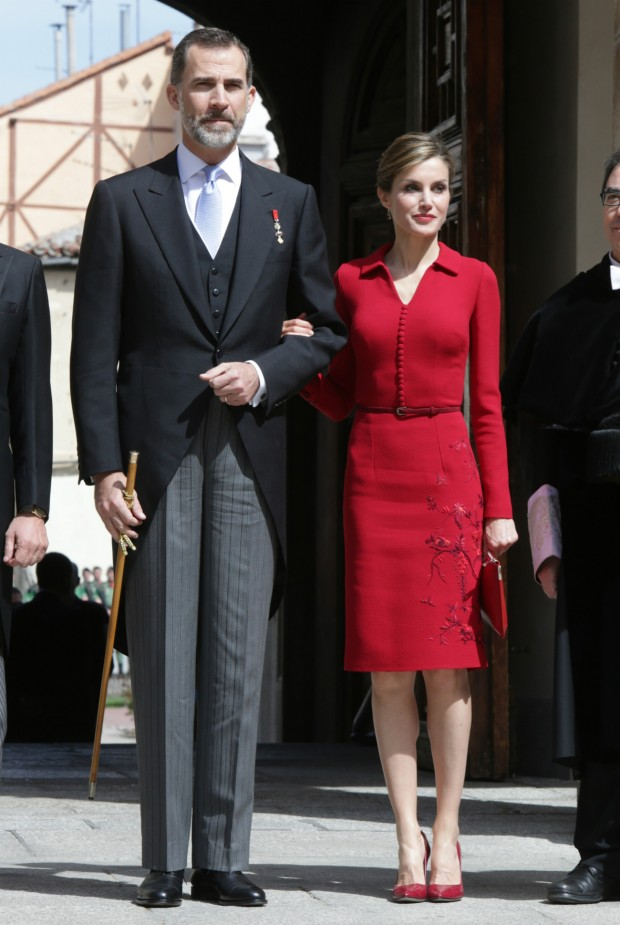 Felipe VI, elegantísimo de chaqué. Qué buena planta tiene el rey. (GTRES)