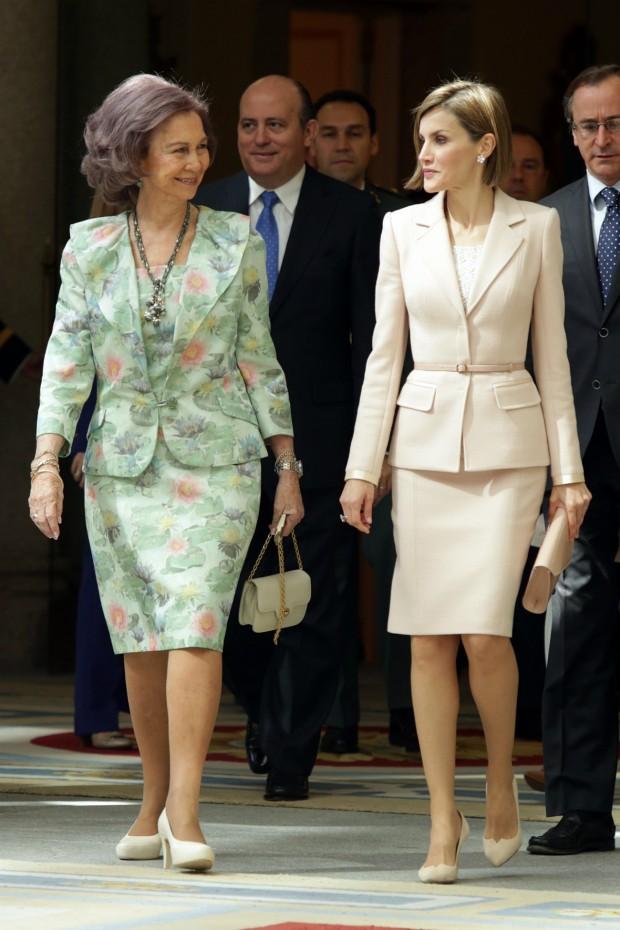 Ambas reinas. (GTRES